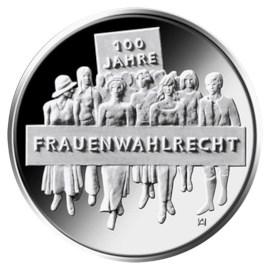 """Duitsland 20 Euro """"Vrouwenkiesrecht"""" 2019"""