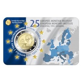 Pièce commémorative Belgique 2019 de 2 euros « 25 ans de la fondation de IME » BU-NL