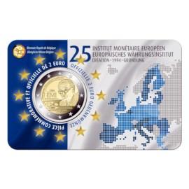 Pièce commémorative Belgique 2019 de 2 euros « 25 ans de la fondation de IME »