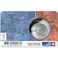 Dutch Cancer Society Medal in coincard