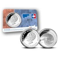 KWF Kankerbestrijding Penning in coincard