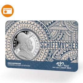 Henk Schiffmacher Penning in coincard