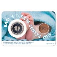 Baby Coincard 2019 Jongen