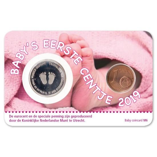 Baby Coincard 2019 Meisje