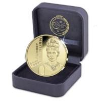 """Belgium 25 Euro """"Audrey Hepburn"""" 2019 Gold Proof"""