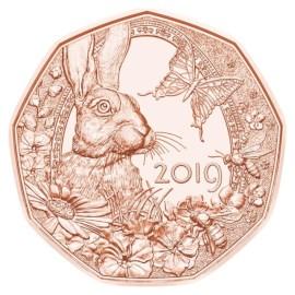Autriche 5 euros « Pâques » 2019