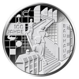 """Duitsland 20 Euro """"Bauhaus"""" 2019"""