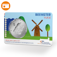 Beemster 5 Euro Coin UNC quality in coincard