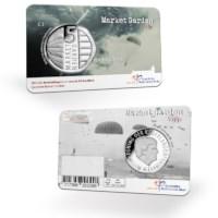 Market Garden 5 Euro Coin BU quality in coincard