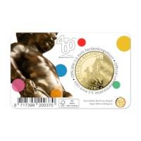 2.5 euro commemorative coin Belgium 2019 '400 years Manneken Pis' BU in coincard - FR