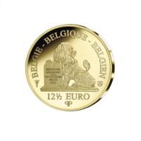12,5 euromunt België 2019 '30 jaar val Berlijnse muur' Goud Proof in etui