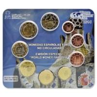 Spanje World Money Fair Set 2014