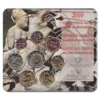 "Griekenland BU Set 2010 met 2 Euro ""Marathon"""