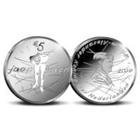 Jaap Eden 5 Euro Coin 2019 Silver Proof