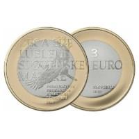 Slovénie 3 euros « Prekmurje » 2019