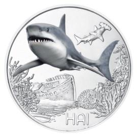 "Austria 3 Euro ""Shark"" 2018"