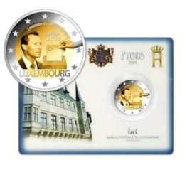 "Luxemburg 2 Euro ""Kiesrecht"" 2019 BU Coincard"