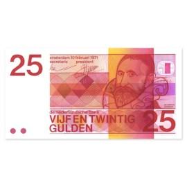 """25 Gulden """"Sweelinck"""" 1971 UNC"""
