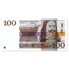 """100 Gulden """"De Ruyter"""" 1970 PR"""