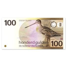 """100 Gulden """"Snip"""" 1977 UNC-"""