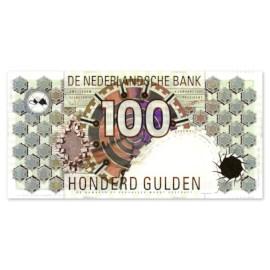 """100 Gulden """"Steenuil"""" 1992 UNC"""