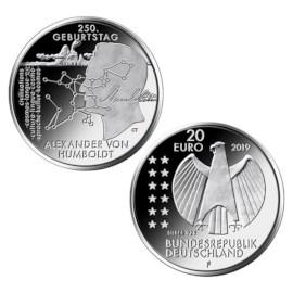 """Duitsland 20 Euro """"Von Humboldt"""" 2019"""