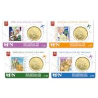 Vaticaan Coincard + Postzegel Set 2019 #2