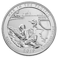 """US Quarter """"Guam"""" 2019 P"""