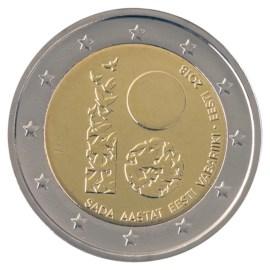 "Estland 2 Euro ""Onafhankelijkheid"" 2018"