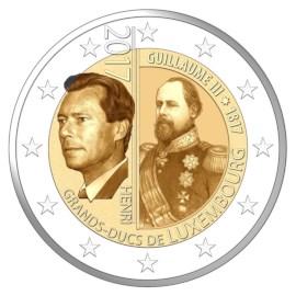 "Luxemburg 2 Euro ""Willem III"" 2017"