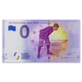 "0 Euro Biljet ""Jaap Eden"""