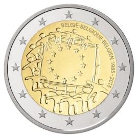 "België 2 Euro ""Europese Vlag"" 2015"