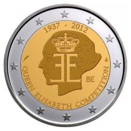 """België 2 Euro """"Elisabeth Concours"""" 2012"""
