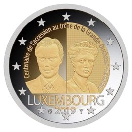 "Luxembourg 2 Euro ""Charlotte"" 2019"