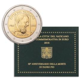 "Vaticaan 2 Euro ""Padre Pio"" 2018"