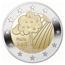 """Malta 2 Euro """"Natuur en Omgeving"""" 2019"""