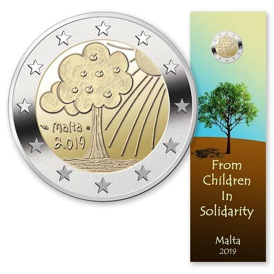 "Malta 2 Euro ""Nature and Environment"" 2019"