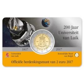 "België 2 Euro ""Luik"" 2017 Coincard NL"