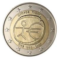 """Cyprus 2 Euro """"10 Jaar EMU"""" 2009"""