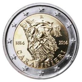 """Italië 2 Euro """"Carabinieri"""" 2014 UNC"""