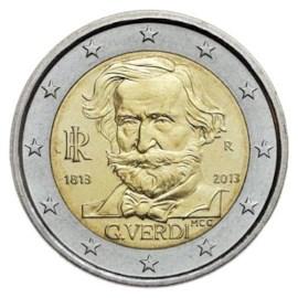 """Italië 2 Euro """"Verdi"""" 2013"""