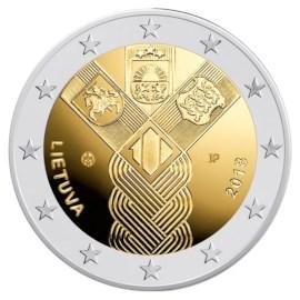 """Litouwen 2 Euro """"Baltische Staten"""" 2018"""