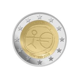 """Malta 2 Euro """"10 Jaar EMU"""" 2009"""