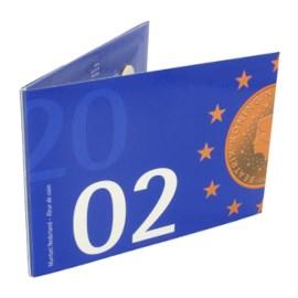 Jaarset Nederland euromunten 2002 FDC