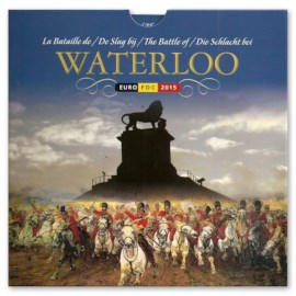 "Belgium FDC Set ""Waterloo"" 2015"