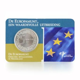 5 Euro 2004 Europamunt UNC Coincard