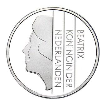 1 Gulden Ninaber Zilver 2001 Prooflike