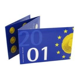 Laatste Jaarset Nederland guldenmunten 2001 FDC