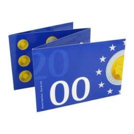Jaarset Nederland guldenmunten 2000 FDC