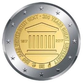 "België 2 Euro ""Gent"" 2017 UNC"